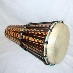 Mosaic Ashiko Drum  On Sale by SlapHappyDrums on Etsy, $1250.00