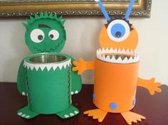 Monster Party, Monster Room, Monster 1st Birthdays, Monster Birthday Parties, 2nd Birthday Parties, Kids Crafts, Cute Crafts, Diy And Crafts, Monster Decorations