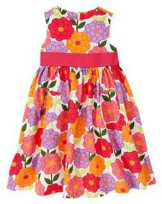 toddler+easter+dresses | easter dress large floral