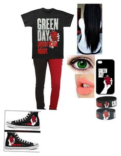 """""""Green Day"""" by faygoman ❤ liked on Polyvore featuring Tripp and Charlotte Tilbury"""