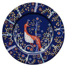 Buy Iittala Taika Plate, Dia.22cm, Blue Online at johnlewis.com