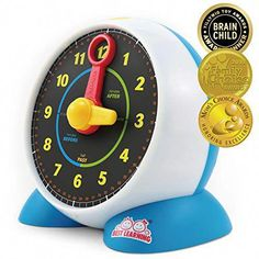 Shop BEST LEARNING Learning Clock - Educational Talking Learn to Tell Time Light-Up Toy with Quiz and Sleep Mode Lullaby Music for Toddlers Kids. Learning Clock, Learning Toys, Best Toddler Toys, Best Kids Toys, Music For Toddlers, Games For Kids, Jasmine, Classroom Timer, Learn To Tell Time