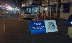 Prefeitura de Boa Vista, recuperação de ruas e avenidas é intensificada com Tapa Buracos Noturno #pmbv #prefeituraboavista #boavista #roraima #obras