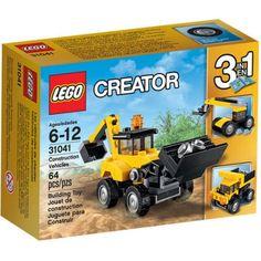 Lego Creator Construction Vehicles 31041, Multicolor