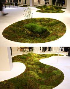 Oasis of green moss-rug-organic-green (1)