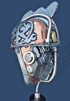 Currently at the #Catawiki auctions: helmet  for steampunker or cosplayers