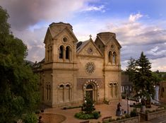 Cathedral Basilica of St. Francis of Assisi, Santa Fe, NM. One of the oldest churches in the United States.