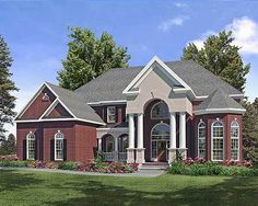 Big and Bold - 36001DK | 1st Floor Master Suite, Butler Walk-in Pantry, CAD Available, Corner Lot, Den-Office-Library-Study, Jack & Jill Bath, Loft, Luxury, MBR Sitting Area, PDF, Southern | Architectural Designs