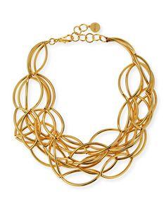 Lele Sadoughi Arcade 14k Gold-Plated Necklace 5aQH8ZZPI