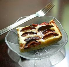 Polish Plum Cake Recipe (My mother used to make this. I'm so excited to have found a recipe for it!)