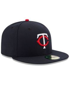 New Era Kids' Minnesota Twins Authentic Collection 59FIFTY Cap - Blue 6 3/4