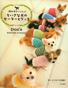 I have no intention every making these. But look how cute! Sweater and Goods for Small Dog Patterns