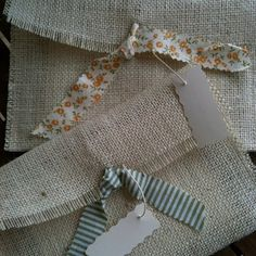 burlap envelopes for wedding invitations