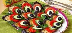 Блюда из баклажанов: закуска «Хвост павлина»