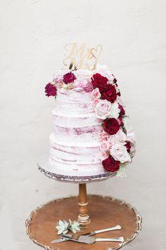 #redvelvet #wedding #cake #nakedcake @weddingchicks