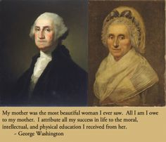 George Washington's mother List Of Presidents, American Presidents, American History, American Soldiers, George Washington Facts, Continental Army, Family History, History Class, American Revolutionary War