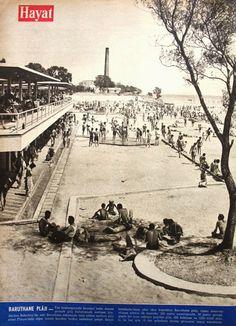 OĞUZ TOPOĞLU : baruthane plajı 1957 hayat dergisi