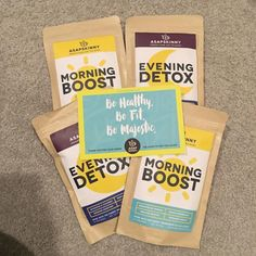 Our 28-Day Teatox. Perfect Detox Tea Kit to jumpstart your healthy new lifestyle! Thank you Kim for the picture! SHOP HERE ➡ www.asapskinny.com
