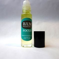 FOCUS blend of lemon, rosemary and peppermint from bamessentials.etsy.com