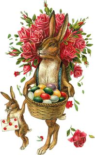 Zibi Vintage Scrap: Easter bunny