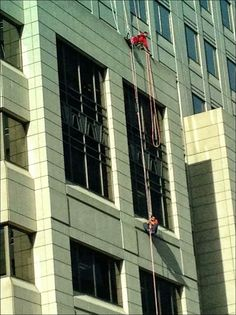 Window Washer Rescue - Suspension Trauma