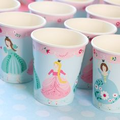 Princess Party Cups by Beau-coup