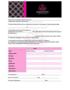 Clothing Consignment Contract Template Scope Of Work