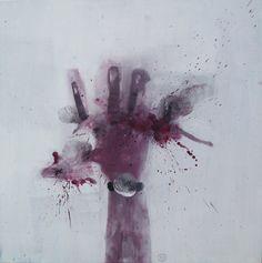 c'e qualcosa di buono in me....painting by Oscar Sancho Nin