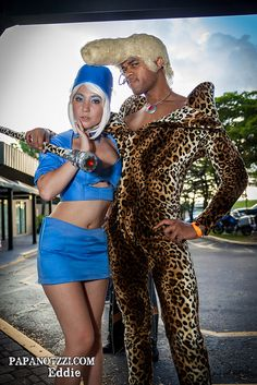 Ruby Rhod and VIP Stewardess - Fifth Element #Cosplay | Supercon 2013