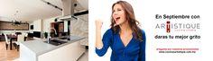 En Septiembre con Cocinas Artistique darás tu mejor grito...! pregunta por nuestras promociones www.cocinasartistique.com.mx