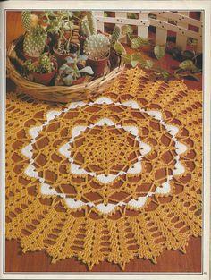 Magic Crochet Magazine April 1990 Issue by KnitKnacksCreations