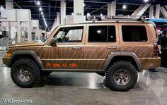 Jeeps at SEMA Show - Bing images