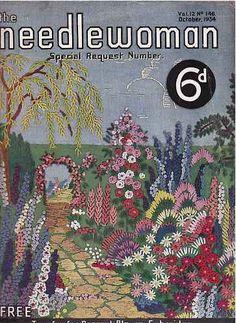 vintage crochet magazine