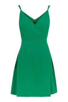 Wrap Slip Mini Dress