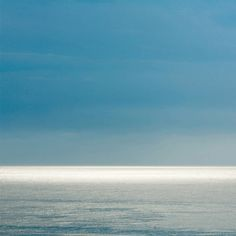 TROWBRIDGE - Sea Horizon - This image is also available in a smaller size Mediterranean Style, Backdrops, Ocean, Clouds, Beach, Water, Outdoor, Bookcases, Objects