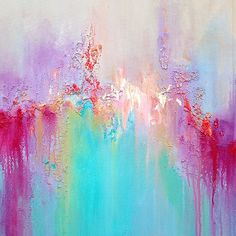 Those colours are fabulous!!! By Anja Art #anjaart #canvas… | Flickr