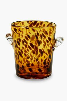Tortoise Glass Ice Bucket