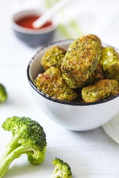 Everyone will get excited about these Broccoli Tots. They make a great snack, side dish, or even a fun appetizer to serve to guests. Get the recipe.