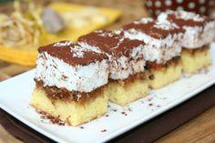 Prajitura Figaro |  MiremircMiremirc | ... bucataria in imagini Romanian Desserts, Romanian Food, Romanian Recipes, Cake Recipes, Dessert Recipes, Food Wishes, Dessert Bread, Food Cakes, Cake Cookies