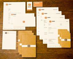 Ironsight Branding - Brand Identity by Erik Wagner, via Behance