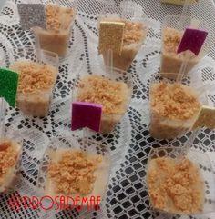 Paçoca de Colher - E no blog tem festa arraiá!! Hum... Comidas e doces típicos e uma decoração bem charmosa!! http://prosademae.blog.br/festa-arraia/ #arraia #festacaipira