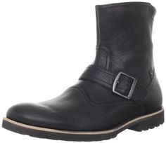 """Rockport Men's Ledge Hill Buckle Boot Rockport. $77.14. Manmade sole. EVA provides lightweight shock absorption to reduce foot and leg fatigue. Boot opening measures approximately 10.75"""" around. leather. Shaft measures approximately 7."""" from arch. Heel measures approximately 1."""""""