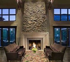fireplace design ideas | Stone Fireplace Design Ideas to Personalize Your Fire Space!