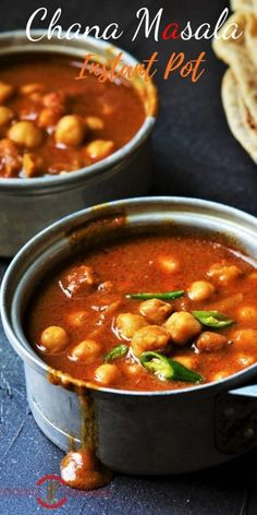 Chana Masala Recipe For Chapathi is so easy to make with canned chickpeas in an Instant Pot. Also known as Punjabi Chole Masala this slightly tangy, onion, tomato based gravy is perfect for dinner in a hurry. Easy Indian Recipes, Dinner Recipes Easy Quick, Healthy Dinner Recipes, Easy Meals, Masala Recipe, Dal Recipe, Vegetarian Snacks, Chickpea Curry, Foodblogger