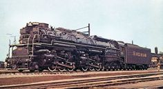 "Virginian ""Blue Ridge"" class articulated steam locomotive.  Essentially identical to a C&O H-8 ""Alleghany""."