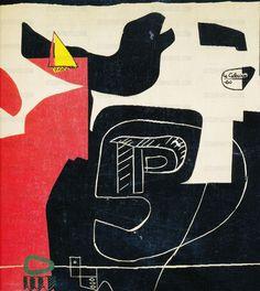 ein-bleistift-und-radiergummi: 'Tapisseries de Le Corbusier' by Le Corbusier, ca.1975.