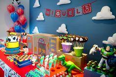 Aniversário: tema Toy Story