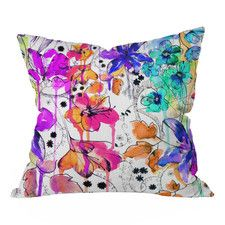 Holly Sharpe Lost in Botanica Polyester Throw Pillow