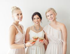 "A Pretty Pink ""Will You Be My Bridesmaid"" Party - Inspired by This"