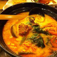 Kimchi Ramen - Ajisen Ramen - Guangzhou China... Amazing!!!